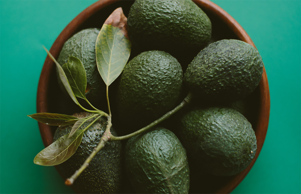 Anti-inflammatory food: avocado